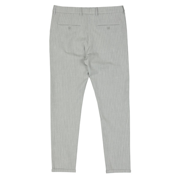 Les Deux Mens Grey Como Pinstripe Suit Pants