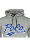 Polo Ralph Lauren Mens Grey Large Logo Overhead Hoody