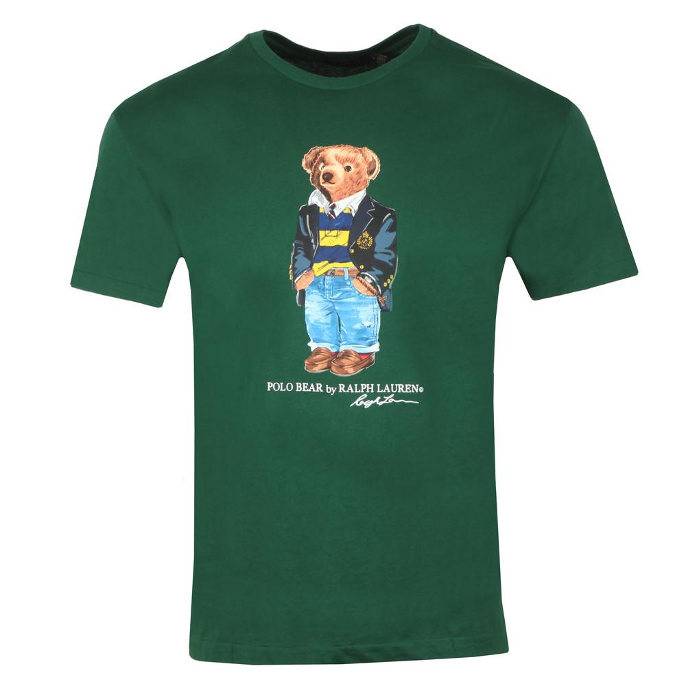 By Classic Fit Ralph Bear Lauren Polo Shirt T Print uF5K3T1Jcl