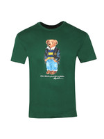 Classic Fit Bear Print T-Shirt