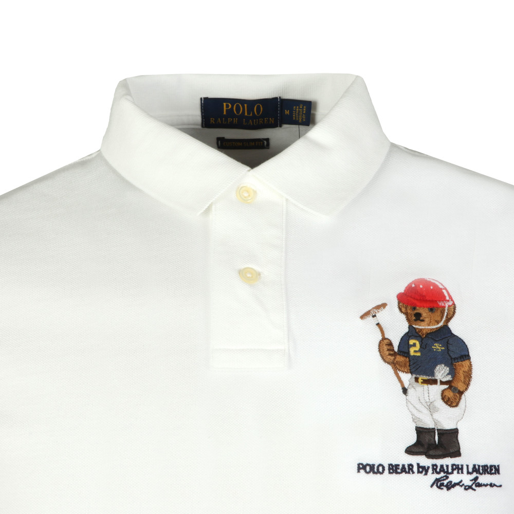 4266e1ee3cfe87 Polo Bear By Ralph Lauren Bear Logo Mesh Polo Shirt | Oxygen Clothing