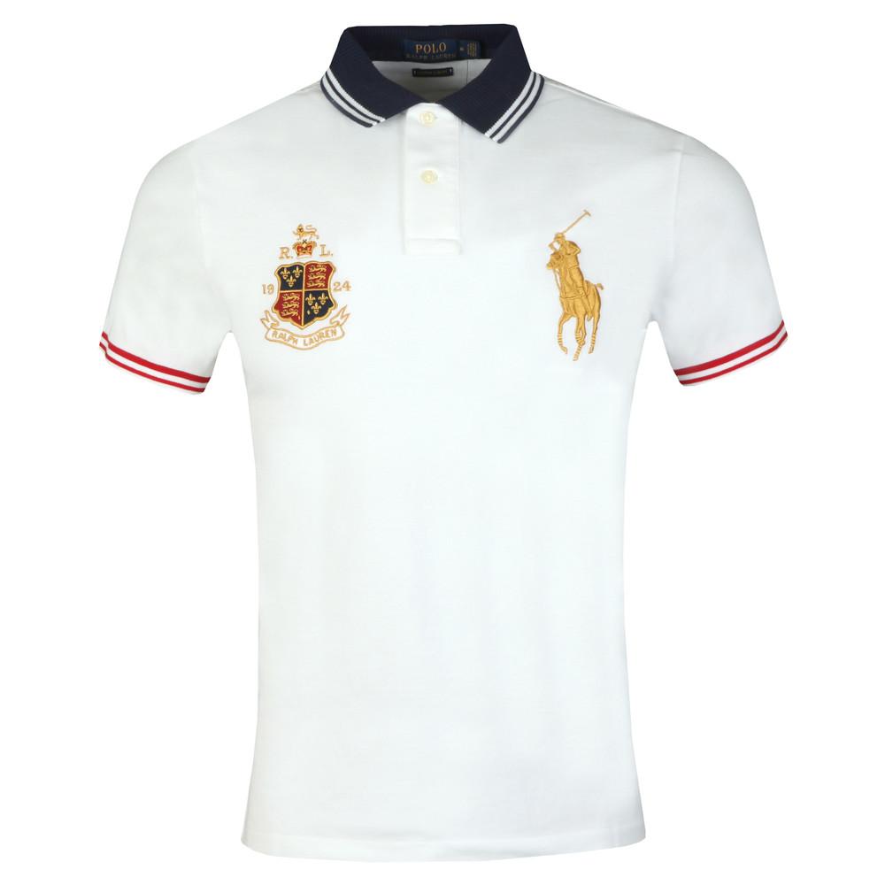 d8b959b5e26da5 Polo Ralph Lauren Crest Logo Polo Shirt