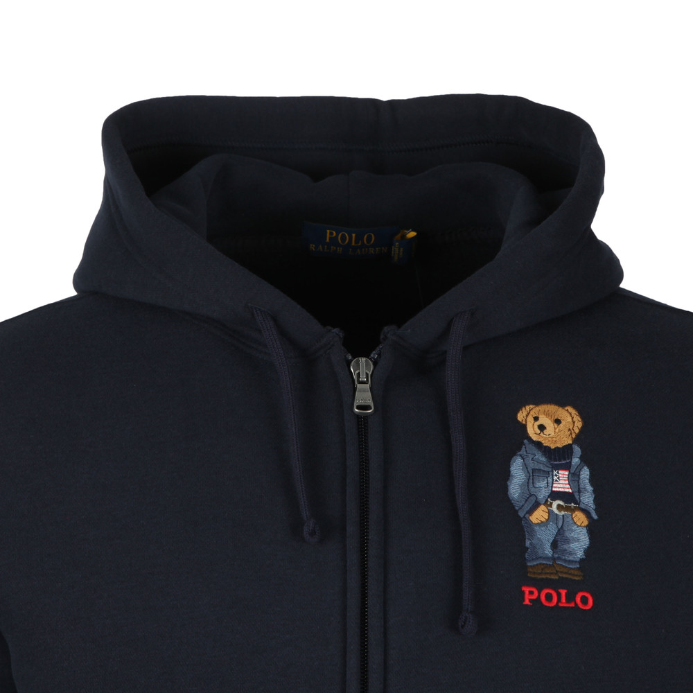 Polo Bear Fleece Hoodie main image