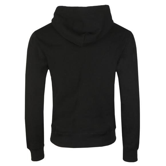 Polo Ralph Lauren Mens Black Cotton Blend Fleece Hoodie main image