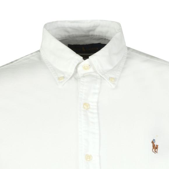 Polo Ralph Lauren Mens White Slim Fit Oxford Shirt
