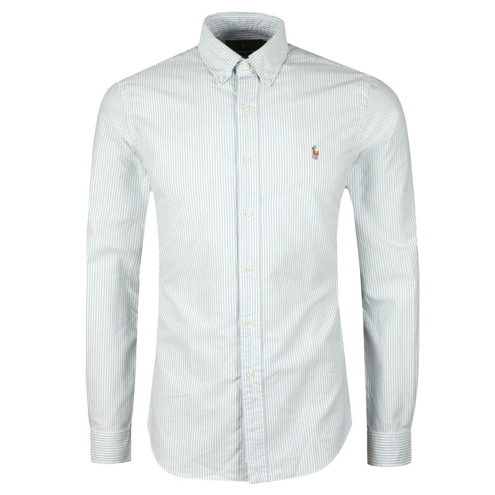 ef8266f4472c Polo Ralph Lauren Slim Fit Stripe Oxford Shirt | Oxygen Clothing