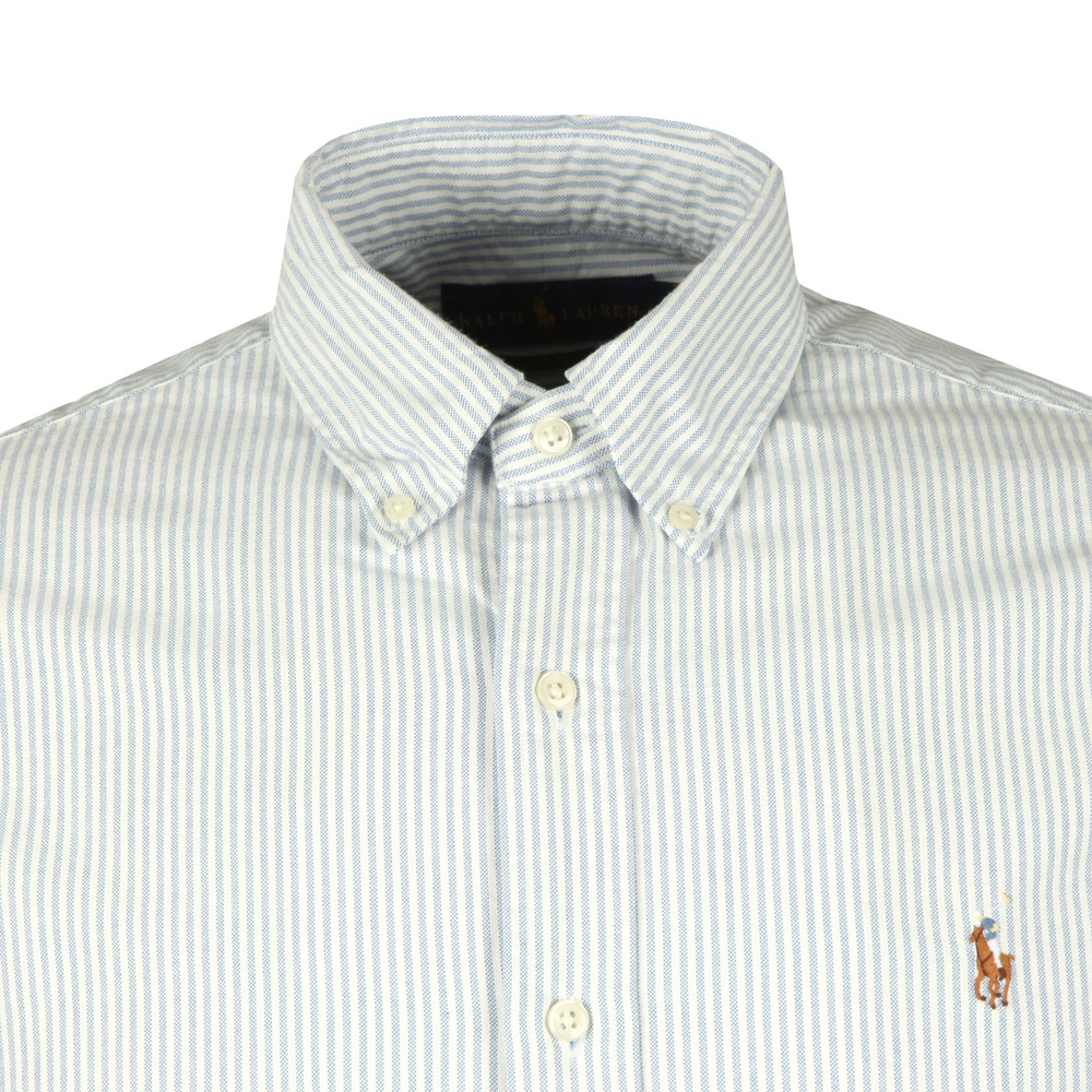 2e37285f4 Polo Ralph Lauren Slim Fit Stripe Oxford Shirt   Oxygen Clothing