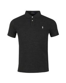 Polo Ralph Lauren Mens Black Slim Fit Polo Shirt
