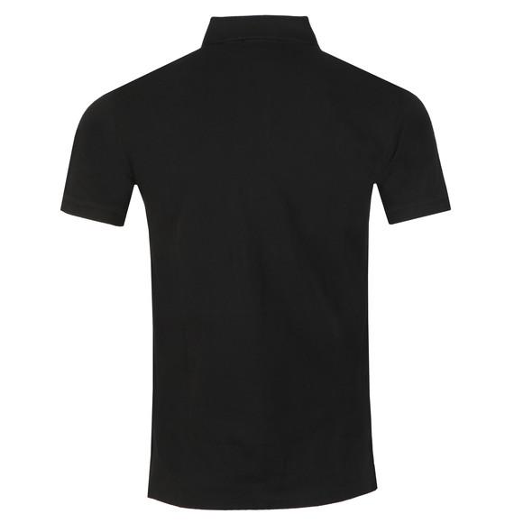 Polo Ralph Lauren Mens Black Slim Fit Polo Shirt main image