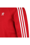 adidas Originals Mens Red 3 Stripes Sweat