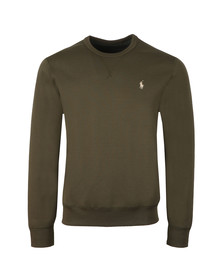 Polo Ralph Lauren Mens Green Tech Crew Sweatshirt
