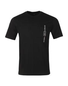 Diesel Mens Black T-Just Pocket T Shirt
