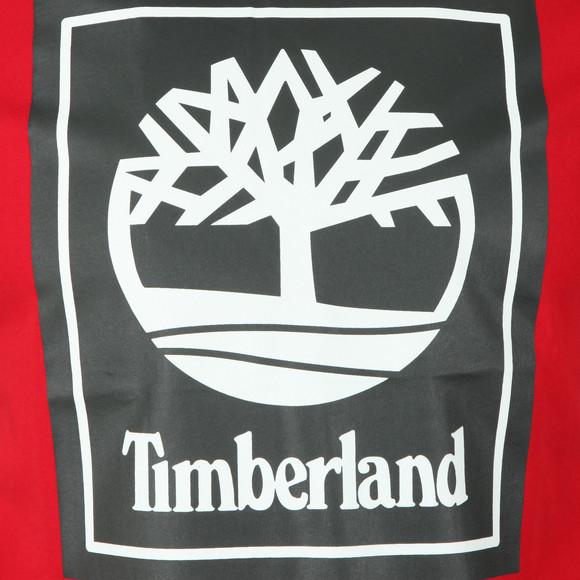 Timberland Mens Red Stack Logo Tee main image