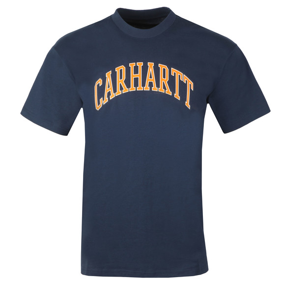 Carhartt WIP Mens Blue Knowledge T Shirt main image