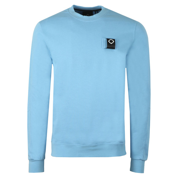 Ma.Strum Mens Blue Training Crew Sweat main image