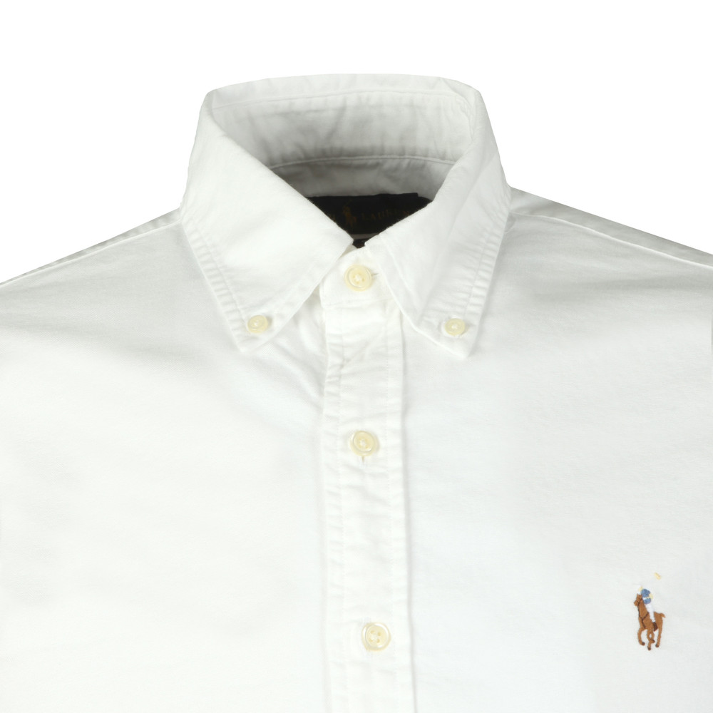 Slim Fit Short Sleeve Oxford Shirt main image