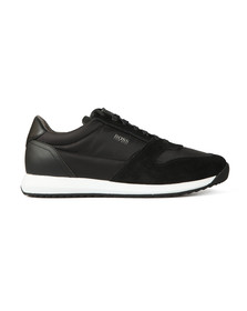BOSS Mens Black Athleisure Sonic Tech Runner