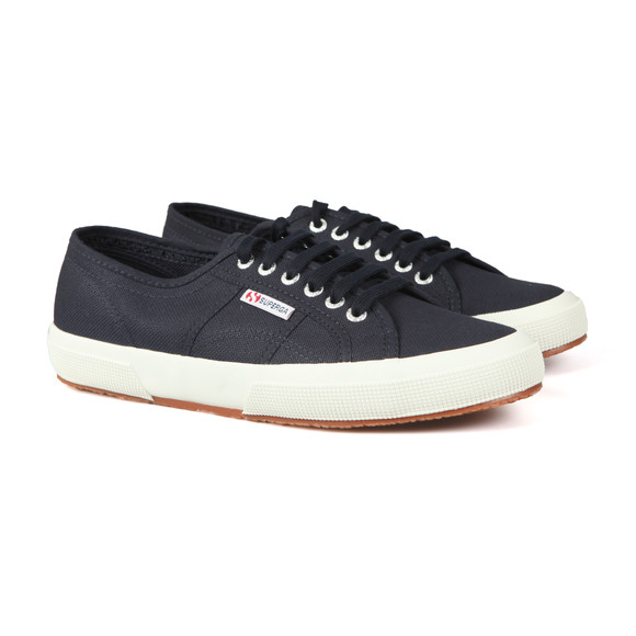 Superga Mens Blue 2750 Cotu Canvas Trainer main image