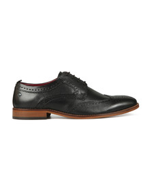 Base London Mens Black Motif Shoe