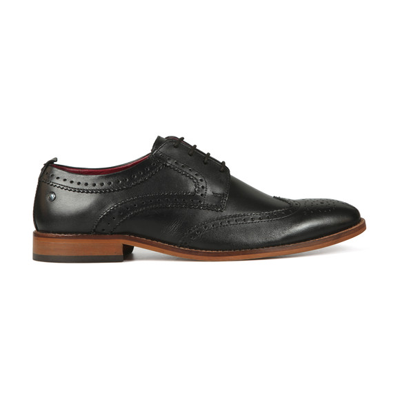 Base London Mens Black Motif Shoe main image