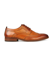 Base London Mens Brown Motif Shoe