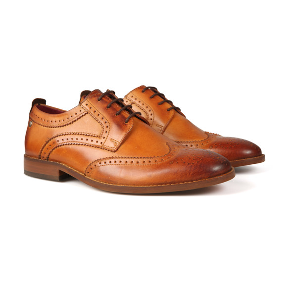 Base London Mens Brown Motif Shoe main image