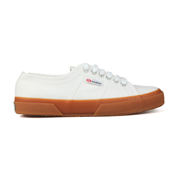 Superga Mens White 2750 Cotu Canvas Trainer main image