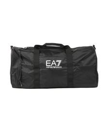 EA7 Emporio Armani Mens Black Logo Holdall