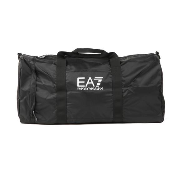 EA7 Emporio Armani Mens Black Logo Holdall main image