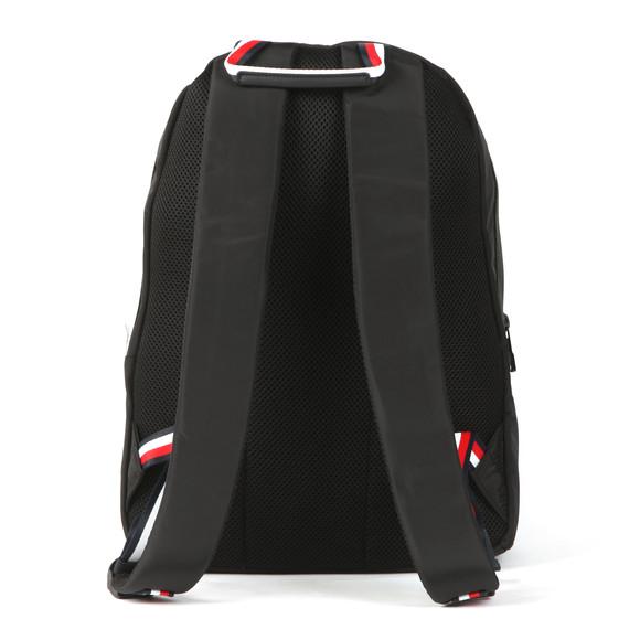 Tommy Hilfiger Mens Black Backpack Sports Tape main image
