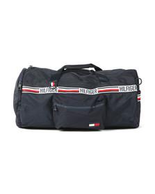 Tommy Hilfiger Mens Blue Sports Duffle Bag