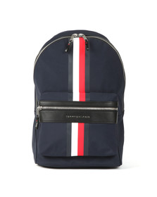 Tommy Hilfiger Mens Blue Elavated Backpack