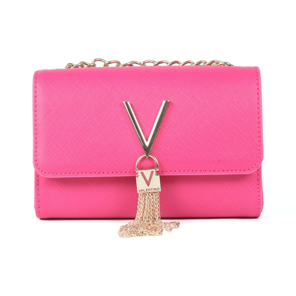 Valentino by Mario Womens Pink Divina SA Small Bag main image