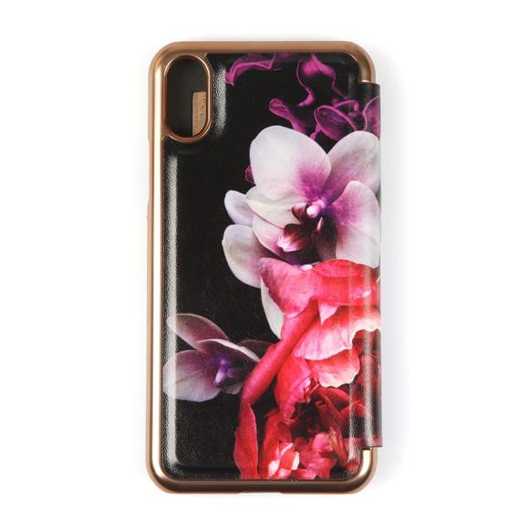 Ted Baker Womens Black Nealah Splendour iPhone X Mirror Case main image