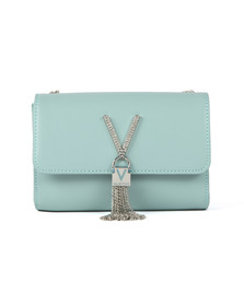 Valentino by Mario Womens Green Ranma Small Clutch
