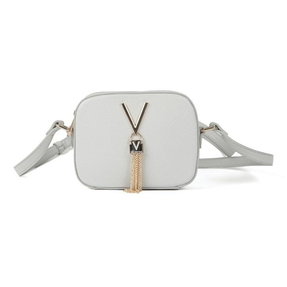 Valentino by Mario Womens Silver Divina Small Handle Tote main image