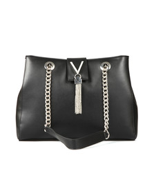 Valentino by Mario Womens Black Ranma Tote