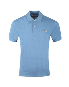 Lacoste Mens Blue L1264 Plain Polo