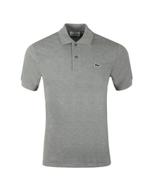 Lacoste Mens Grey L1264 Plain Polo