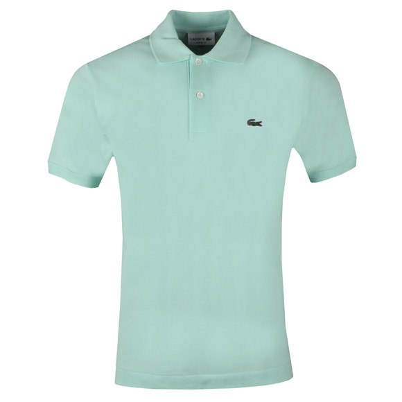 Lacoste Mens Green L1212 Polo Shirt main image