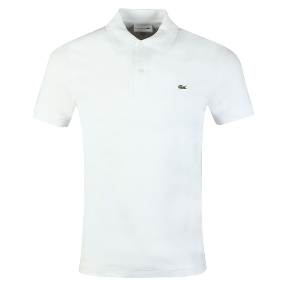 Lacoste Mens White DH2050 Polo main image