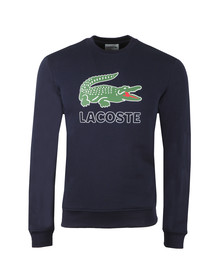 Lacoste Mens Blue SH6382 Sweat