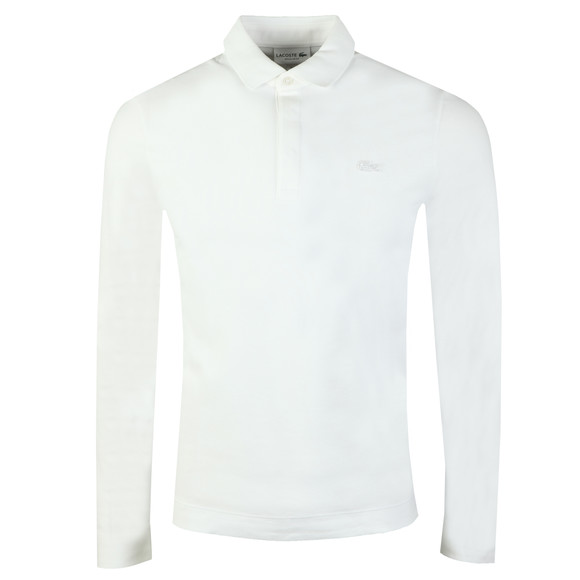 Lacoste Mens White L/S PH9435 Polo main image