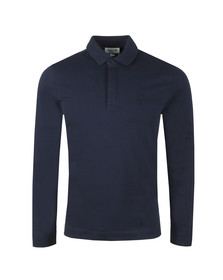 Lacoste Mens Blue L/S PH9435 Polo