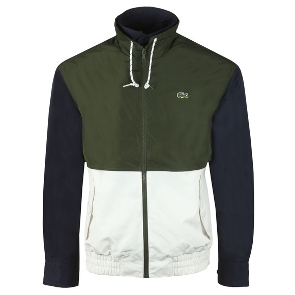 Lacoste Mens White BH3344 Jacket main image