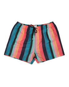 PS Paul Smith Mens Black Artist Stripe Swim Short