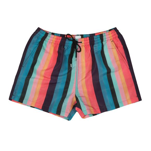 PS Paul Smith Mens Blue Artist Stripe Swim Short