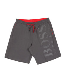 BOSS Bodywear Mens Grey Orca Swim Short