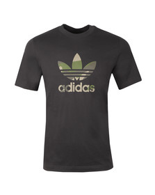 adidas Originals Mens Black Camo Infill Tee