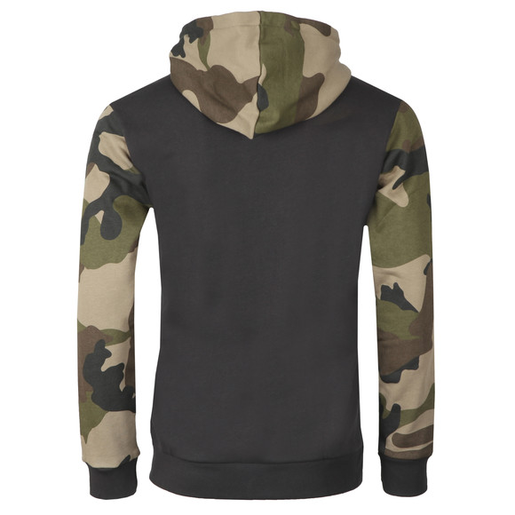 adidas Originals Mens Black Camo Full Zip Hoody main image